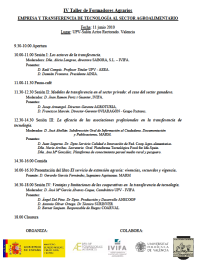 Programa IV Taller